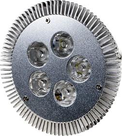 FEX141 E27, 5x1W 220В лампа светодиодная, цвет теплый белый