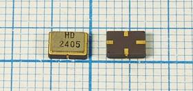Фото 1/2 ПАВ резонаторы 430.55МГц в корпусе SMD 5x3.5мм, 1порт, SAW 430550 \S05035C4\\180\ \HDR430,55MS20\ (HD2405)