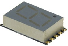 KCSA04-102, индикатор зеленый 10.16мм 1x7 7мКд