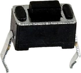 0343HIM-180G-G, кнопка тактовая 6х3 h=4.3мм