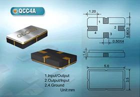 Фото 1/2 ПАВ резонаторы 433.92МГц в корпусе SMD 5x3.5мм , 1порт, без маркировки, SAW 433920 \S05035C4\\175\\FTR433\ бм