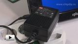 Смотреть видео: GS25E12-P1J Блок питания (адаптер), 12В,2А,25Вт