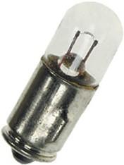H6-1201 7X23MM, лампа накаливания 12В 1.2Вт BA7S 7*23мм
