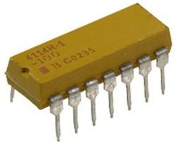 4114R-1-562LF, 7x5.6 кОм резисторная сборка изол. DIP-14