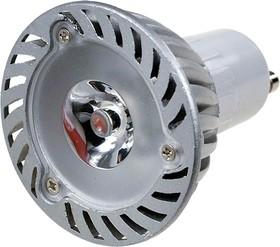 FEX104 GU10, 1x3W 220В лампа светодиодная, цвет теплый белый