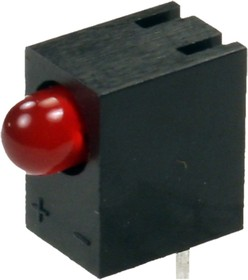 Фото 1/2 L-710A8CB/1ID, Светодиод красный d=2.9мм 25мКд
