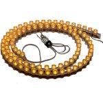 Фото 2/2 HT-DIP-960S-U 12V Yellow(HS-5MMY-96C2P4-12) (96 LED, 013537), Лента светодиодная 1 метр, 96LED(5(7)mm)/m 12V желтый
