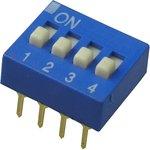 Фото 4/4 SWD1-4 (ВДМ1-4), Переключатель DIP, 4 контактных групп
