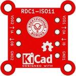 Фото 2/2 Печатная плата RDC1-ISO11, Печатная плата с разводкой, FR4 31.8х31.8мм (1.5мм, 18мкм)