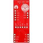 Фото 2/2 Печатная плата RDC1-USB-UART, Печатная плата с разводкой, FR4 18х48мм (1.5мм, 18мкм)