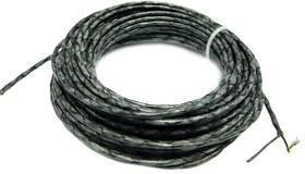 Провод МКЭО 26-14 2х0,50 мм кв. 1 м ( черный)