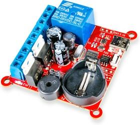 Фото 1/2 RDC2-0025, Недельный таймер, термостат. Реле 7А, 250В, 2 канала ШИМ 5А, 100В