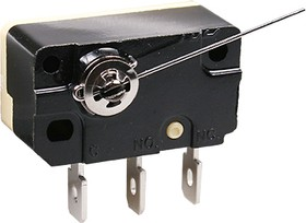 CNR-05S-03, микропереключатель с лапкой 250В 5А (аналог B181A)