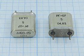 кварцевый резонатор 4.40625МГц в корпусе с большим кристаллом БА=HC6U, 4406,25 \HC6U\\\\РГ07БА\1Г