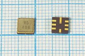 Фото 1/2 ПАВ резонаторы 435.2МГц в корпусе SMD 5x5мм , 1порт, SAW 435200 \S05050C8\\173\ \R435,2MS3B\SDE (HD486)