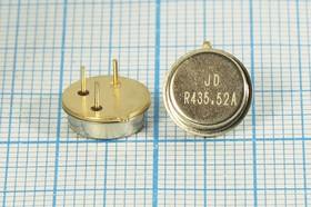 Фото 1/2 ПАВ резонаторы 435.52МГц в корпусе TO39 , 1порт, SAW 435520 \TO39\\173\\ R435,52MTO39\SDE (JDR435.52A)