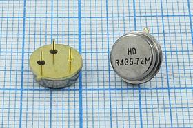 Фото 1/2 ПАВ резонаторы 435.72МГц в корпусе TO39 , 1порт, SAW 435720 \TO39\\345\\HDR435,72MTO- 04A\(HDR435,72M)