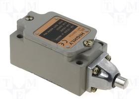 WL-5101, Концевой выключатель, толкатель 9мм, NO + NC, 10А, макс.250ВAC