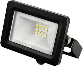 Прожектор светодиодный Gauss LED 10W 670lm IP65 3000К черный   613527110   Gauss