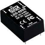 LDD-350H, DC/DC LED Driver, 20Вт, вх 9-56В, вых 2-52В/350мА, преобразователь для светодиодного освещения