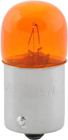 Лампа накаливания RY5W 24v5w (BA15s) yellow