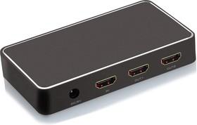 GL-v102K, Разветвитель HDMI v1.4a, 1 на 2 выхода, 4Kx2K 30Hz / 1080p 120Hz, HDCP 1.4, серия Greenline