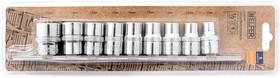 """Набор торцевых головок 1/2 """"Dr 9шт 10-22mm HF001303"""