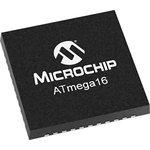 Фото 2/2 ATMEGA16L-8MU, 8 Bit MCU, AVR ATmega Family ATmega16 Series Microcontrollers, 8 МГц, 16 КБ, 1 КБ, 44 вывод(-ов)