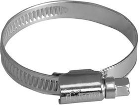 Хомут червячный 8 - 12 мм (оцинкованный) в инд. пакете OBERKRAFT