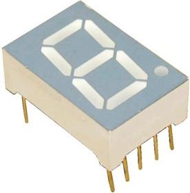 TOS-5161AMB-N, Индикатор синий 12.60х19.00мм 15мКд, общий катод