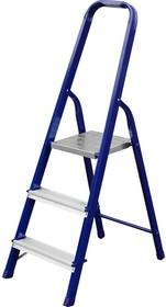 38803-03, Лестница-стремянка СИБИН стальная, 3 ступени, 60 см