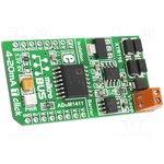 MIKROE-1296, Плата макетная; конвертер; 2-wire 4-20mA loop,SPI; ADuM1411