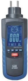 Фото 1/2 DT-9054, Тестер проверки и измерения параметров УЗО