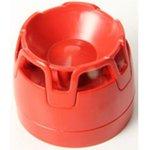 CWSO-RR-S1 (аналог EMA12/24BR) Звуковой оповещатель, 12/24 В, красный, низкая база IP21C