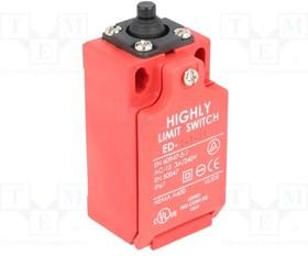 ED-1-1-31, Концевой выключатель, толкатель, NO + NC, 5А, макс.240ВAC, PG13,5
