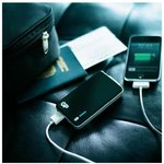 Фото 2/4 XPB20B, Внешний аккумулятор, универсальный, портативный (4000mAh) USB- micro USB, черный
