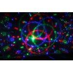 Фото 2/3 601-253, Лампа светодиодная (светомузыка) 6Вт, 3 цвета
