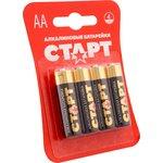 Батарейка алкалиновая АА СТАРТ LR6-BL4