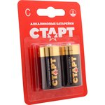 Батарейка алкалиновая С СТАРТ LR14-BL2