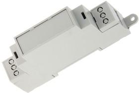 D1MG, Корпус на DIN-рейку 18.1 x 90.2 x 57.5, светло-серый