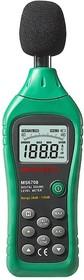 Фото 1/2 MS6708, Измеритель уровня шума (шумомер) 30-130дБ