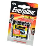 Energizer MAX+Power Seal LR6 BL4, Элемент питания