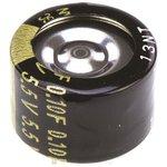 Фото 2/2 EECRF0H104, ионистор 0.1Fx5.5V -25+85Cсерия RF табл.тип(Panasonic)