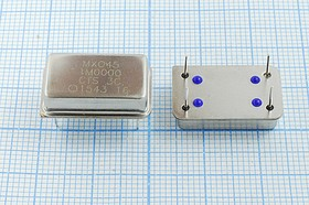 Кварцевый генератор 1.0МГц, 5В,HCMOS/TTL в корпусе DIL14=FULL, гк 1000 \\FULL\T/CM\5В\MXO45\CTS