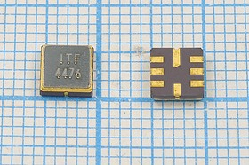 Фото 1/2 ПАВ резонаторы 447МГц в корпусе SMD 5x5мм , 1порт, SAW 447000 \S05050C8\\168\\R44761\ (ITF4476)