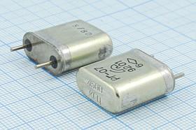 Фото 1/2 кварцевый резонатор 4.5МГц с большим кристаллом в металлическом корпусе БА=HC6U, 4500 \HC6U\\\\РГ07БА\1Г