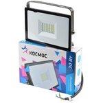 КОСМОС K_PR5_LED_30 светодиодный, 30Вт, 6500К, IP65 черный ...