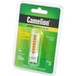 Camelion LED6-G9/830/G9 6Вт 3000K BL1, Лампа светодиодная