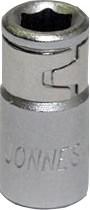 """Jonnesway S44H2206 Адаптер для вставок 1/4""""F - 1/4""""F 47424"""