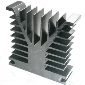 HS 153-30, Радиатор 30х100х100 мм, 2.1 дюйм*градус/Вт